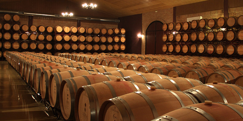 Wines with barrel ageing