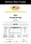 GREAT GOLD MEDAL RESERVA 2011