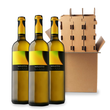 ComprarMileto Eclipse White 3 bottle box