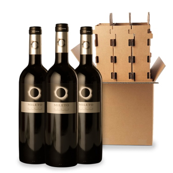 ComprarMileto Eclipse Red Crianza 3 Bottle box