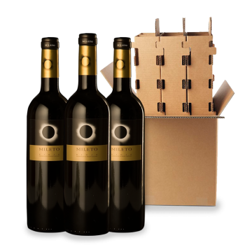 ComprarMileto Eclipse Red Reserva 3 bottle box