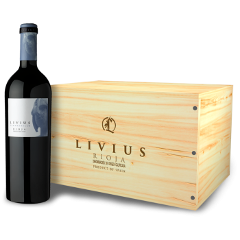 ComprarLivius Tempranillo 6 bottle woodbox