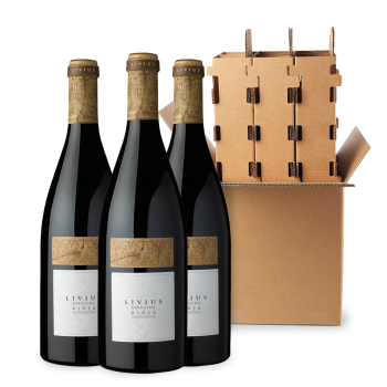 ComprarLivius Garnacha 3 bottle box