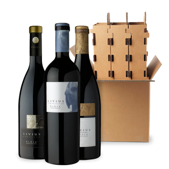 ComprarLivius Red Wines 3 bottle box