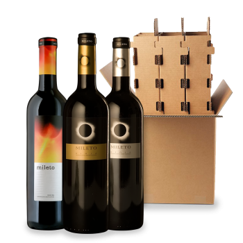 ComprarMileto Eclipse Red Wines 3 bottle box