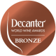 MEDALLA DE BRONCE DECANTER 2008 (LONDRES)